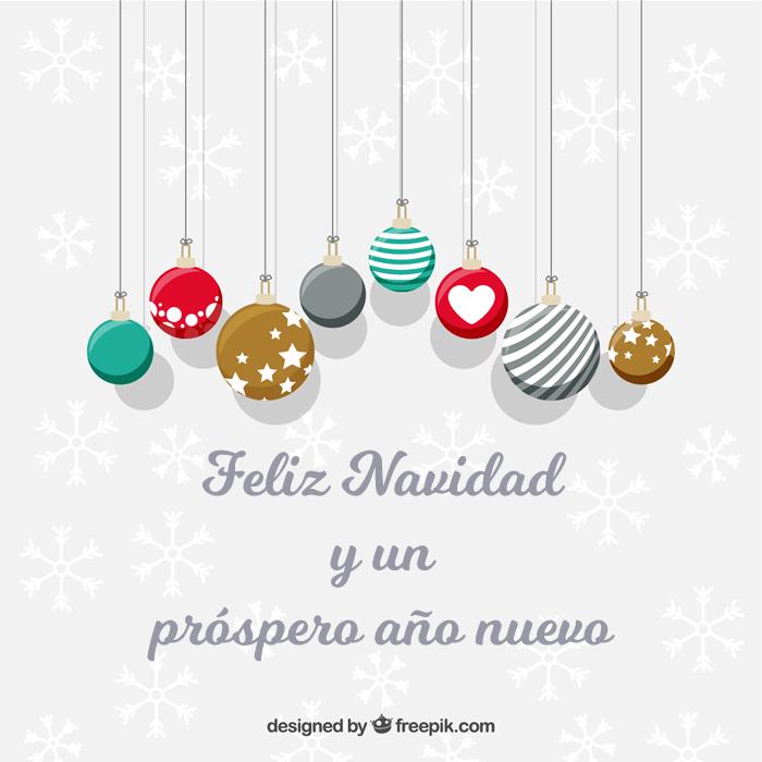 feliz navidad y un próspero año nuevo 2018