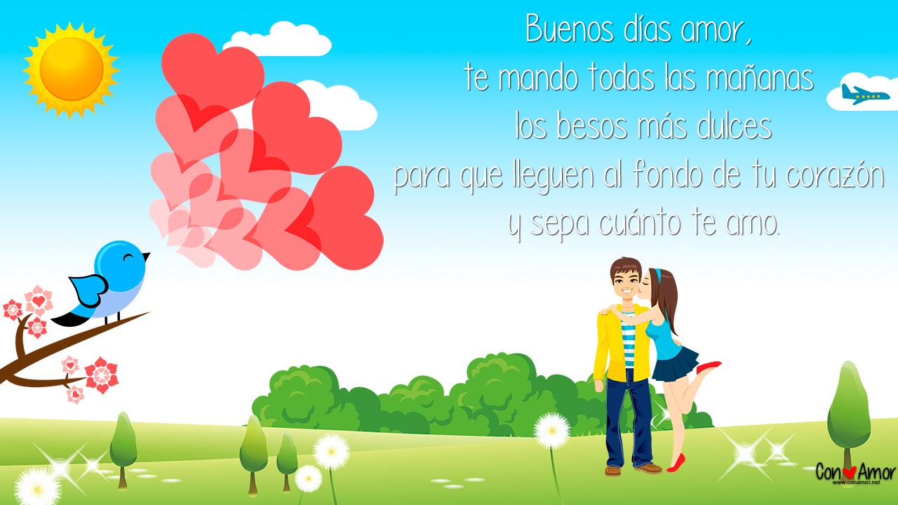 Frases De Buenos Días Archivos Con Amor